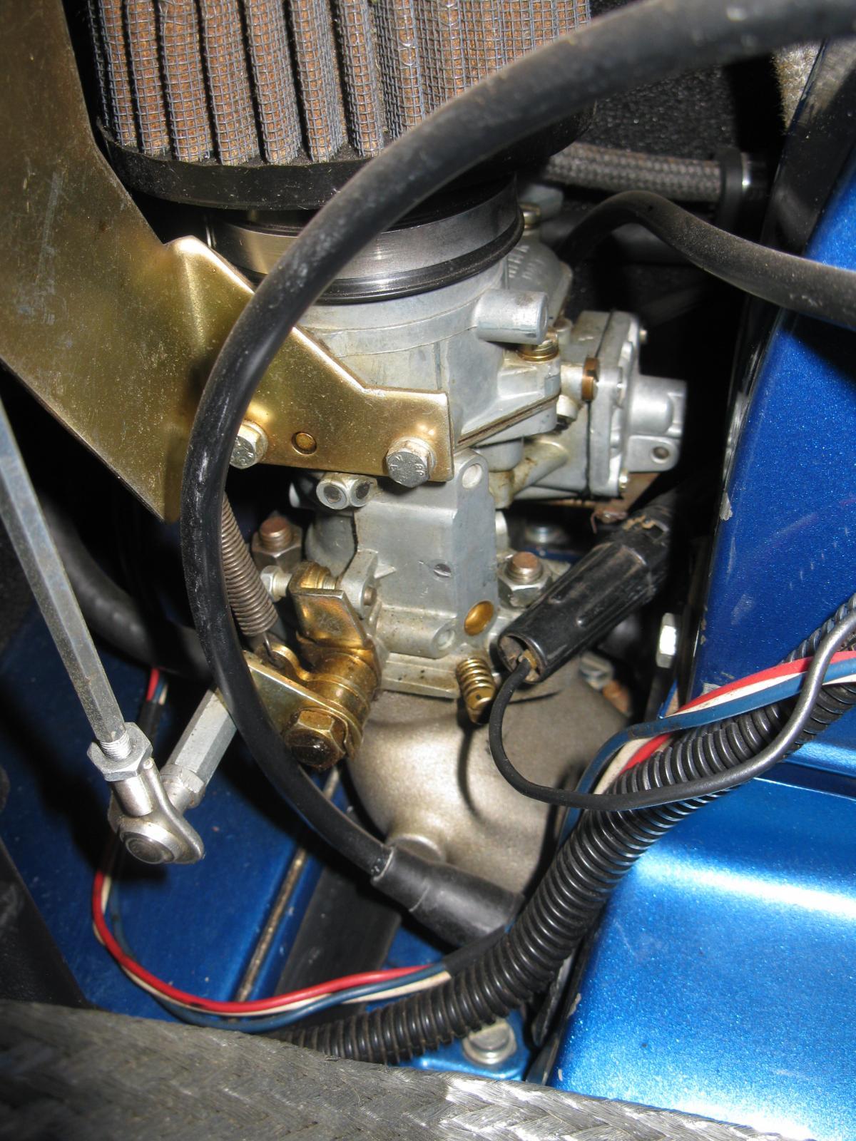 Weber ICT cards on 1776 cc K.Ghia engine