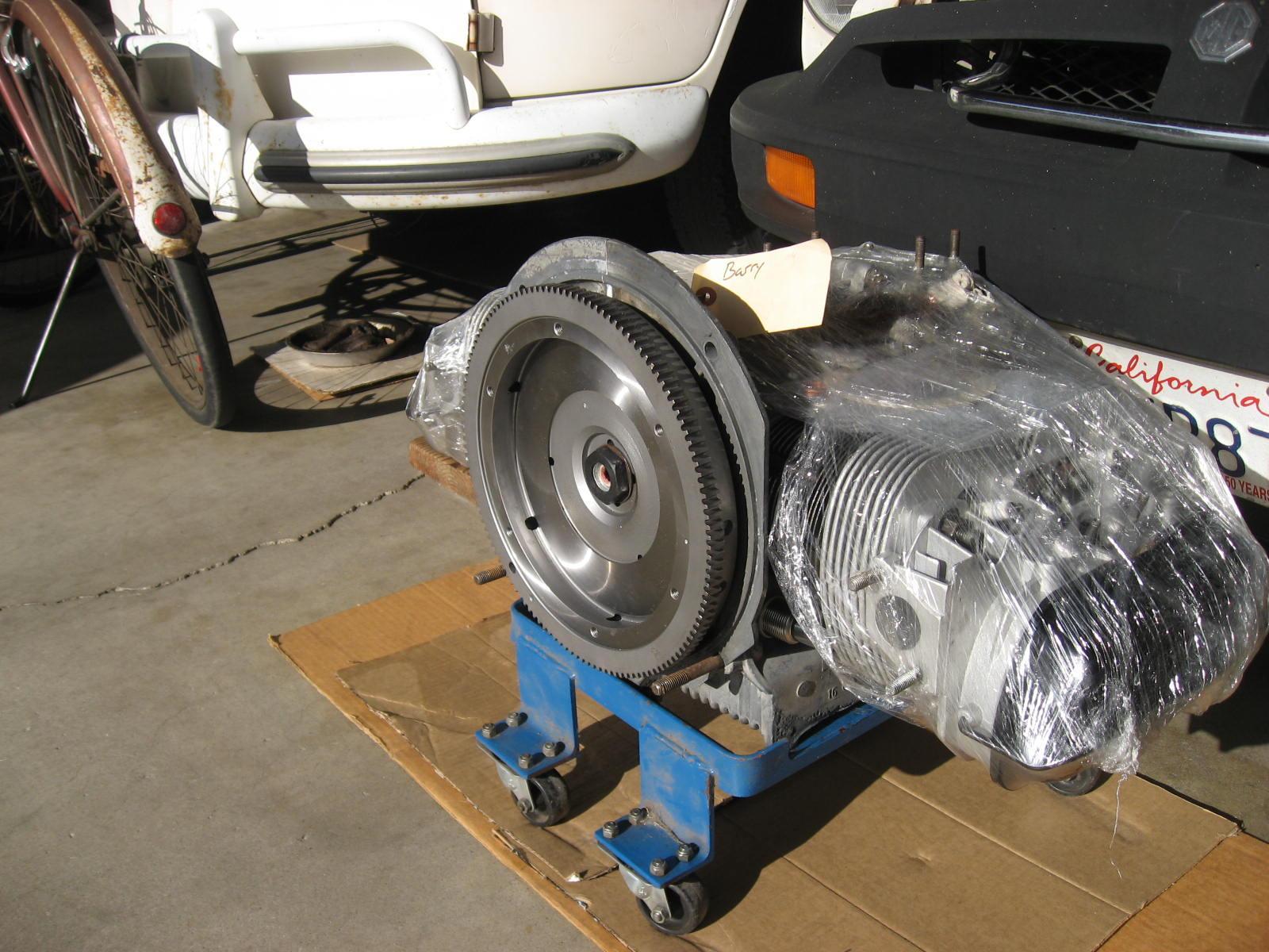 fresh rebuilt H engine