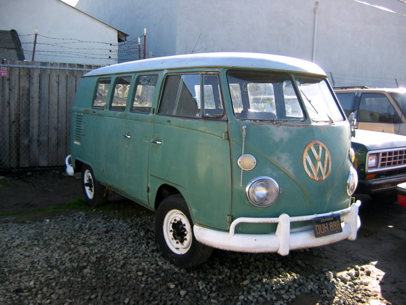 Original Paint Velvet Green Kombi
