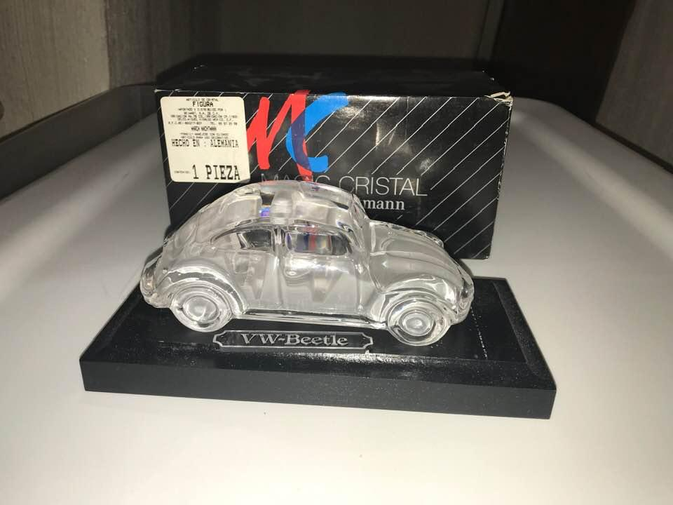 VW Beetle Bug Magic Crystal Glass By Nachtmann Germany