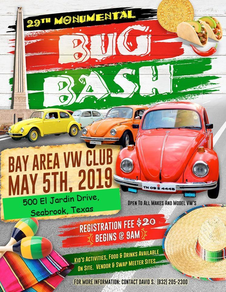 29th Annual Monumental Bug Bash