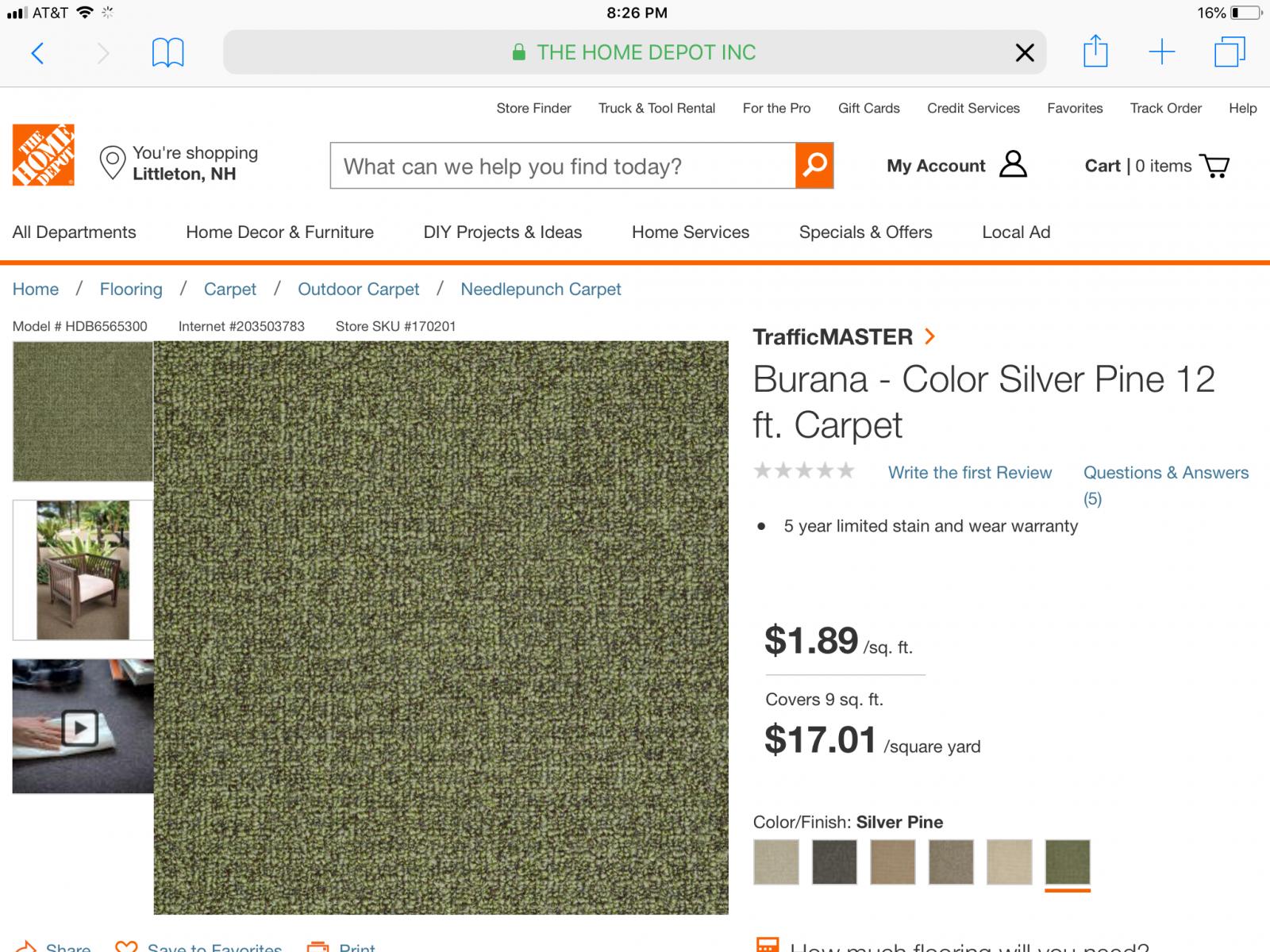 Seamus carpet