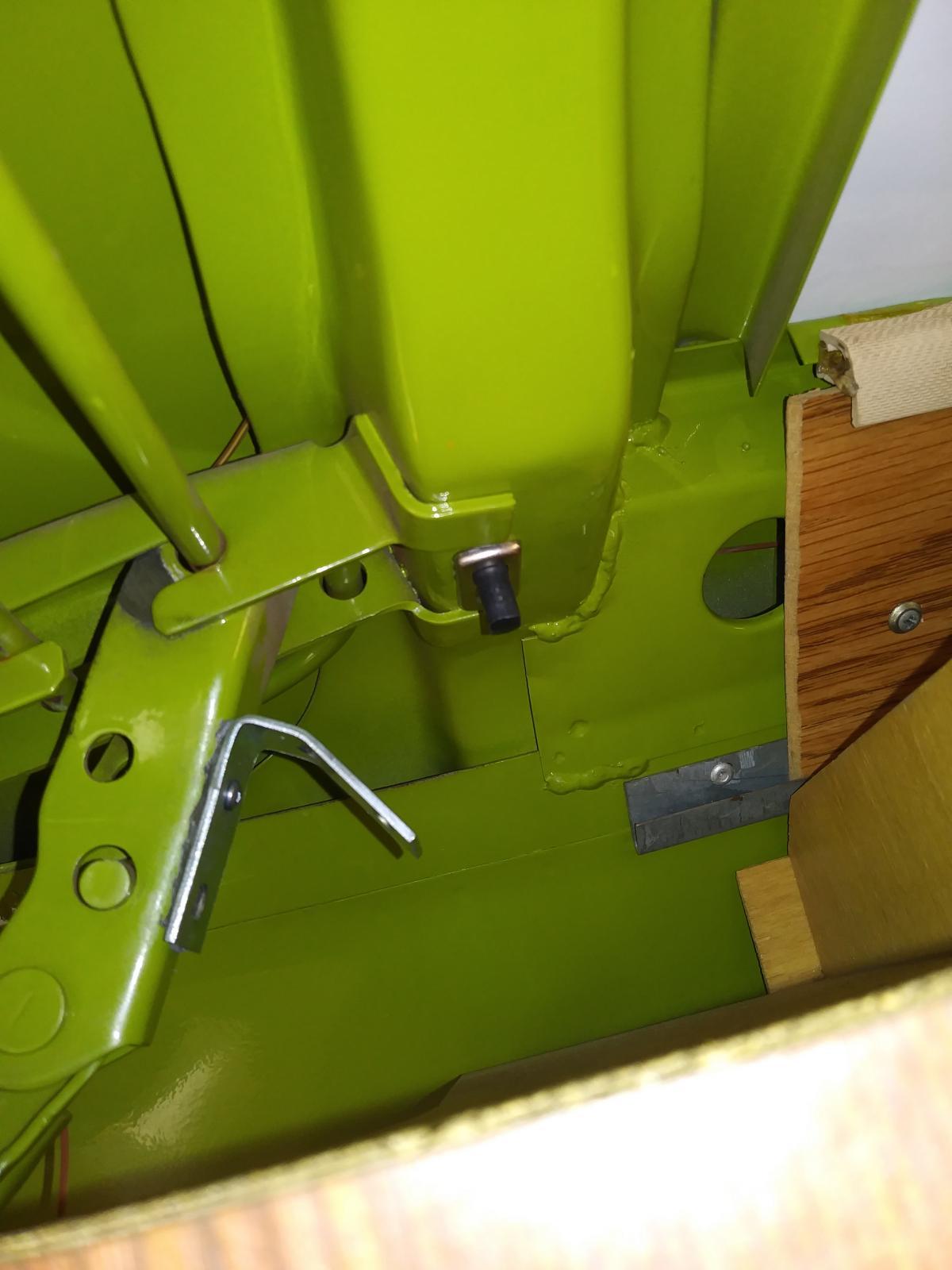 Rear hatch light switch