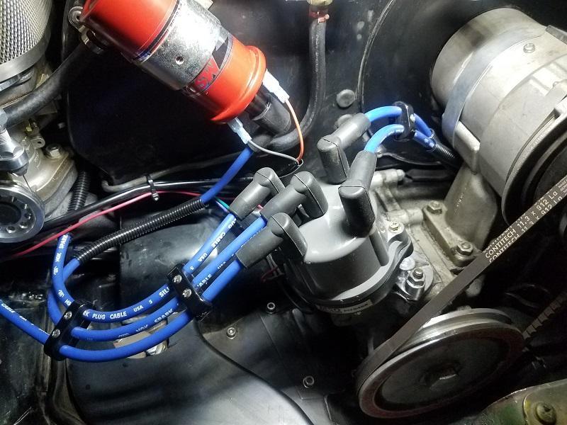 plug wires for MSD distributor