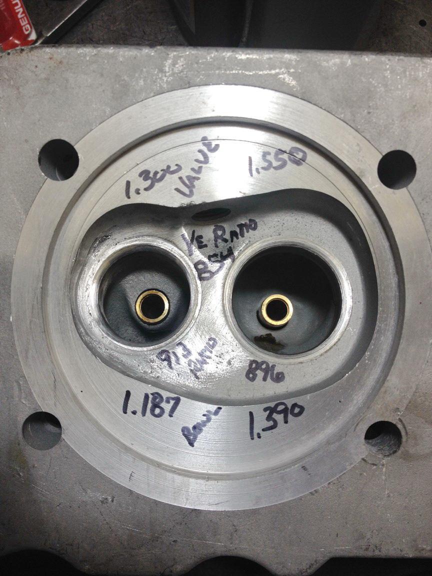 1.8L cylinder head build