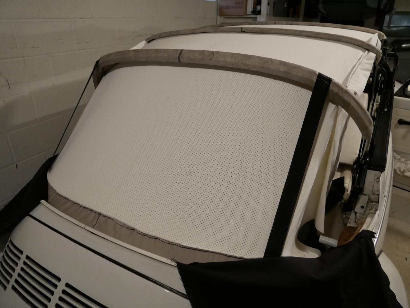 rear webbing straps '79 super beetle convertible