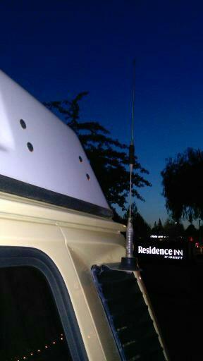 TheSamba com :: Vanagon - View topic - Routing HAM antenna