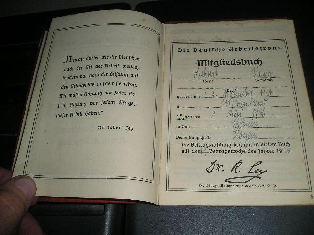 kdf savings stamp book 1936!