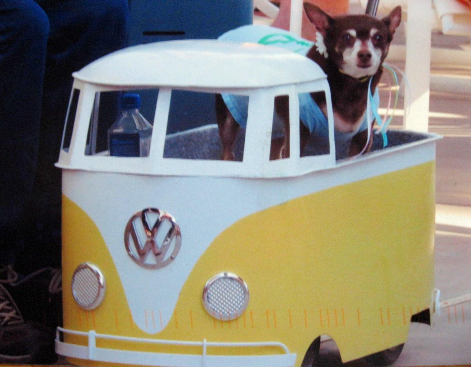 pull-along wagon Single Cab for dog