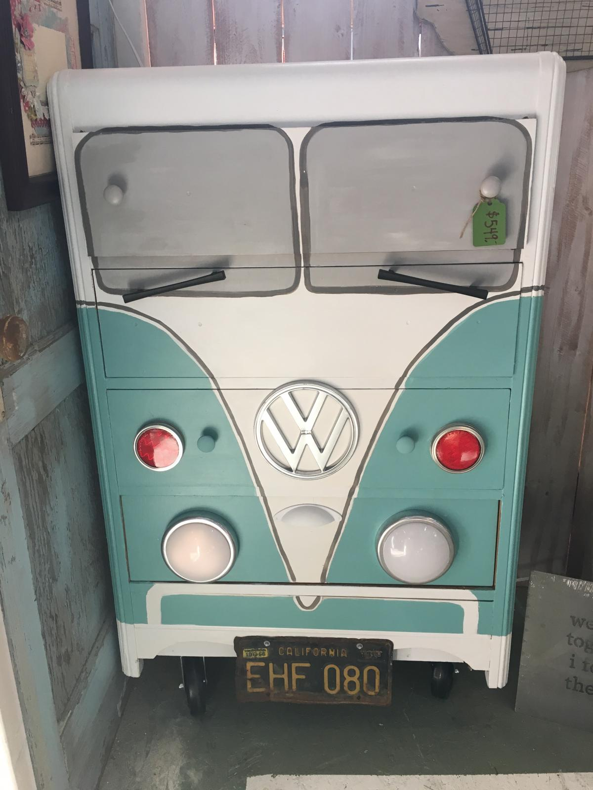 VW split bus dresser $549