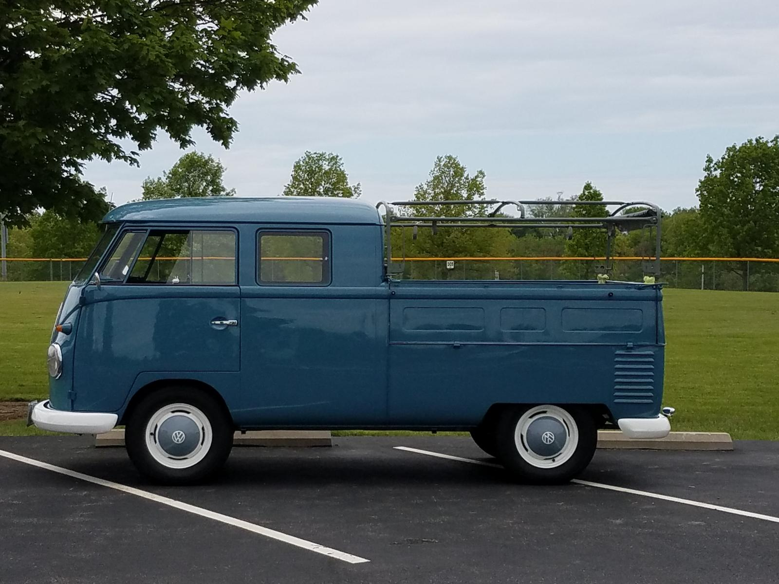 Taking the 1959 Double-Cab out for a Spring drive...