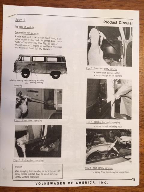 Baywindow Rustproofing Guide