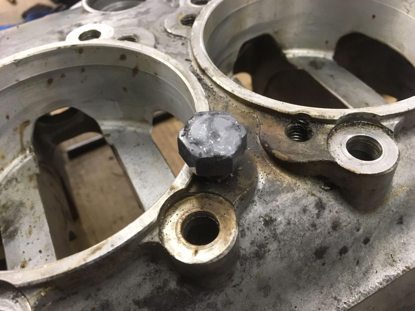 broken stud