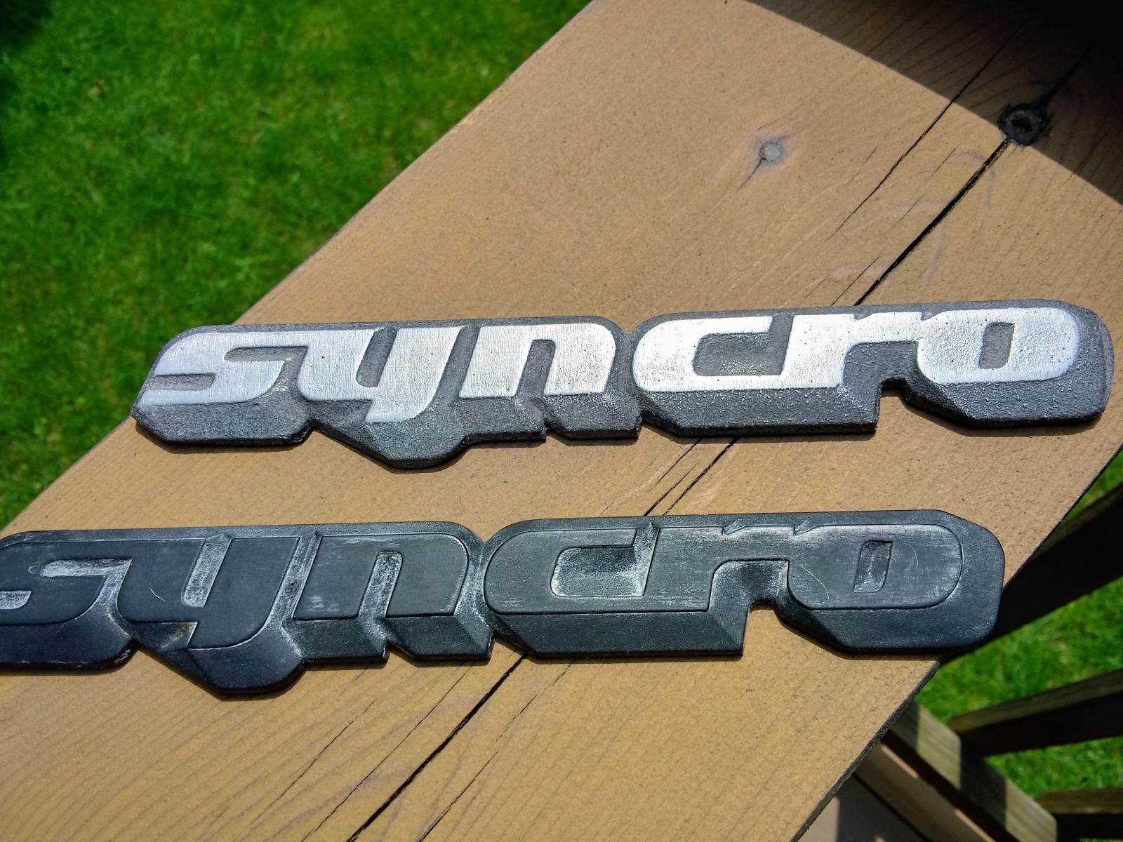 Alloy Syncro emblem by Outcaststudios