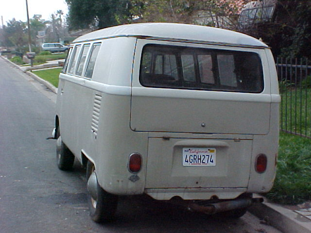 Mouse Grey Pearl White Standard Microbus