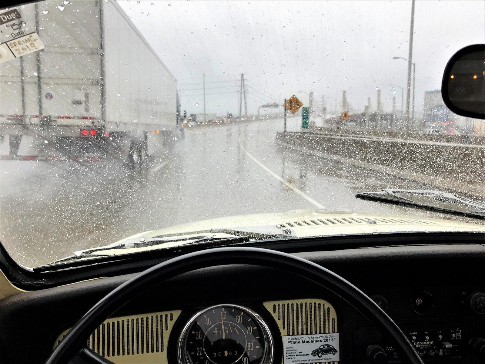 Rainy season returns to Southern Connecticut...