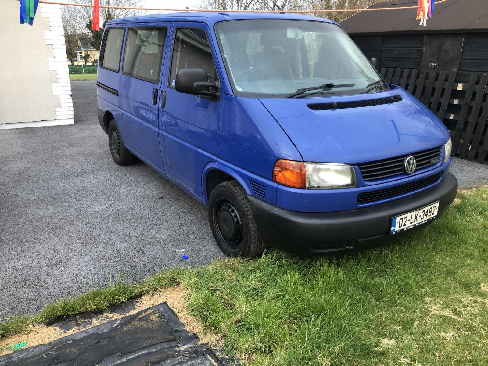Twin slider eurovan.