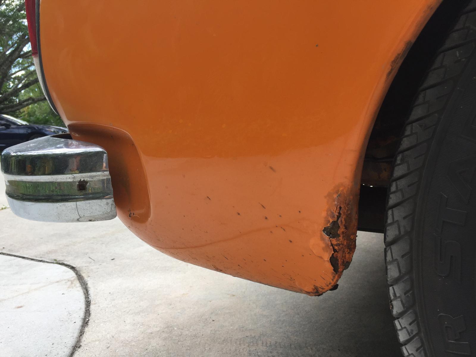 1974 amber Ghia convertible