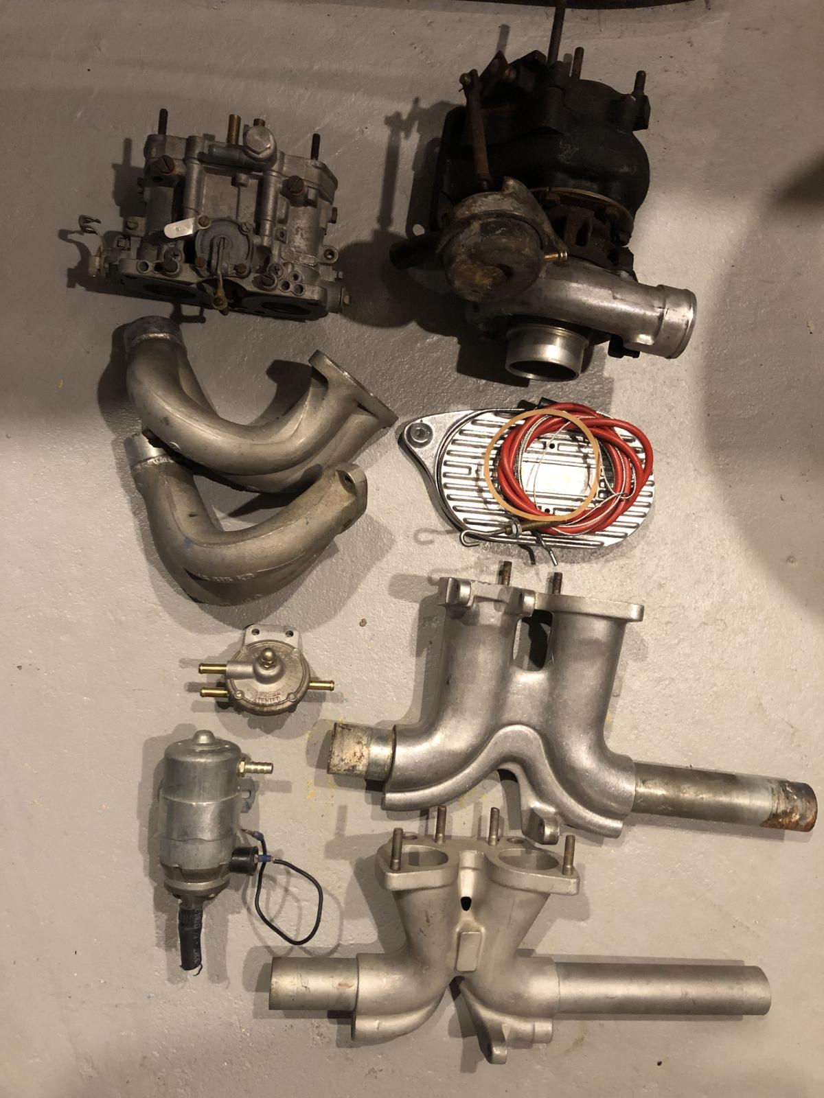 Turbo parts collecting