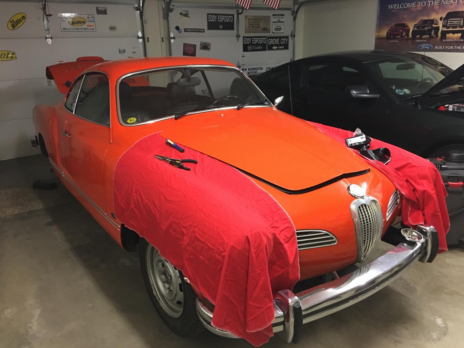 74 Karmann Ghia