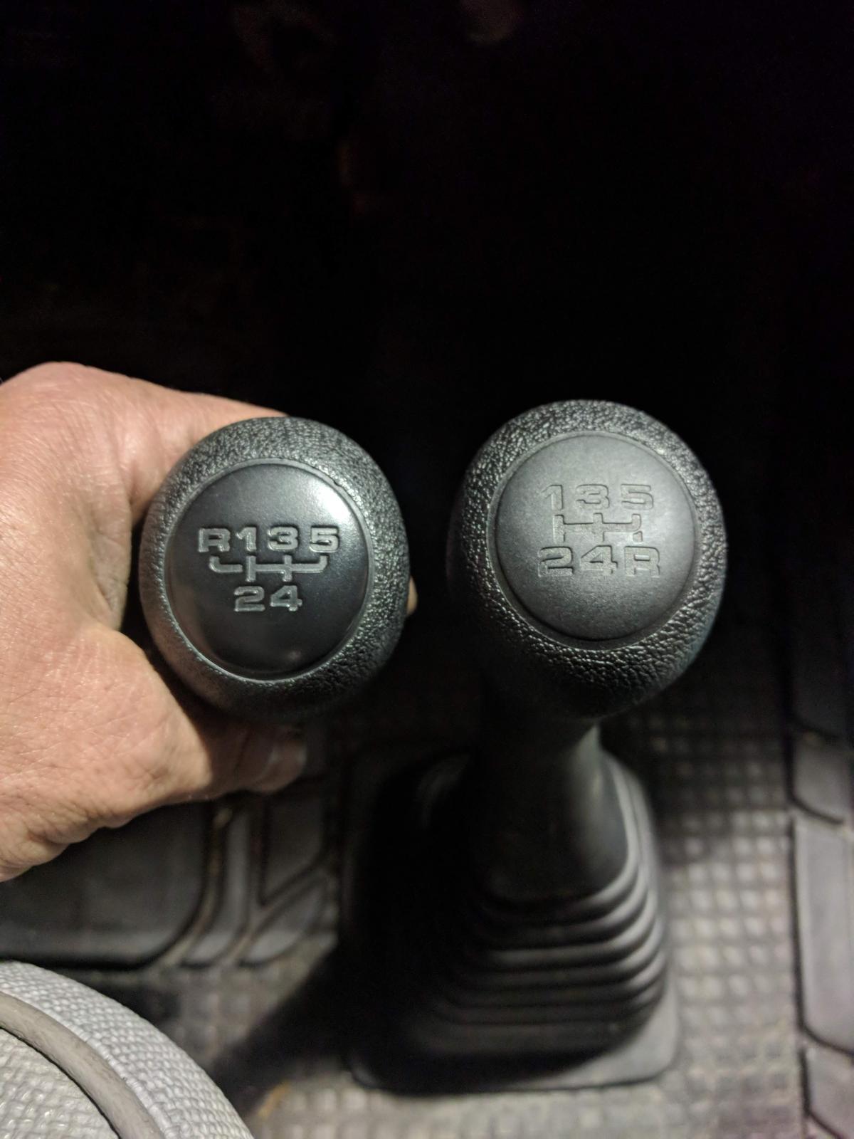 VW T4 Doka 02G Shifter