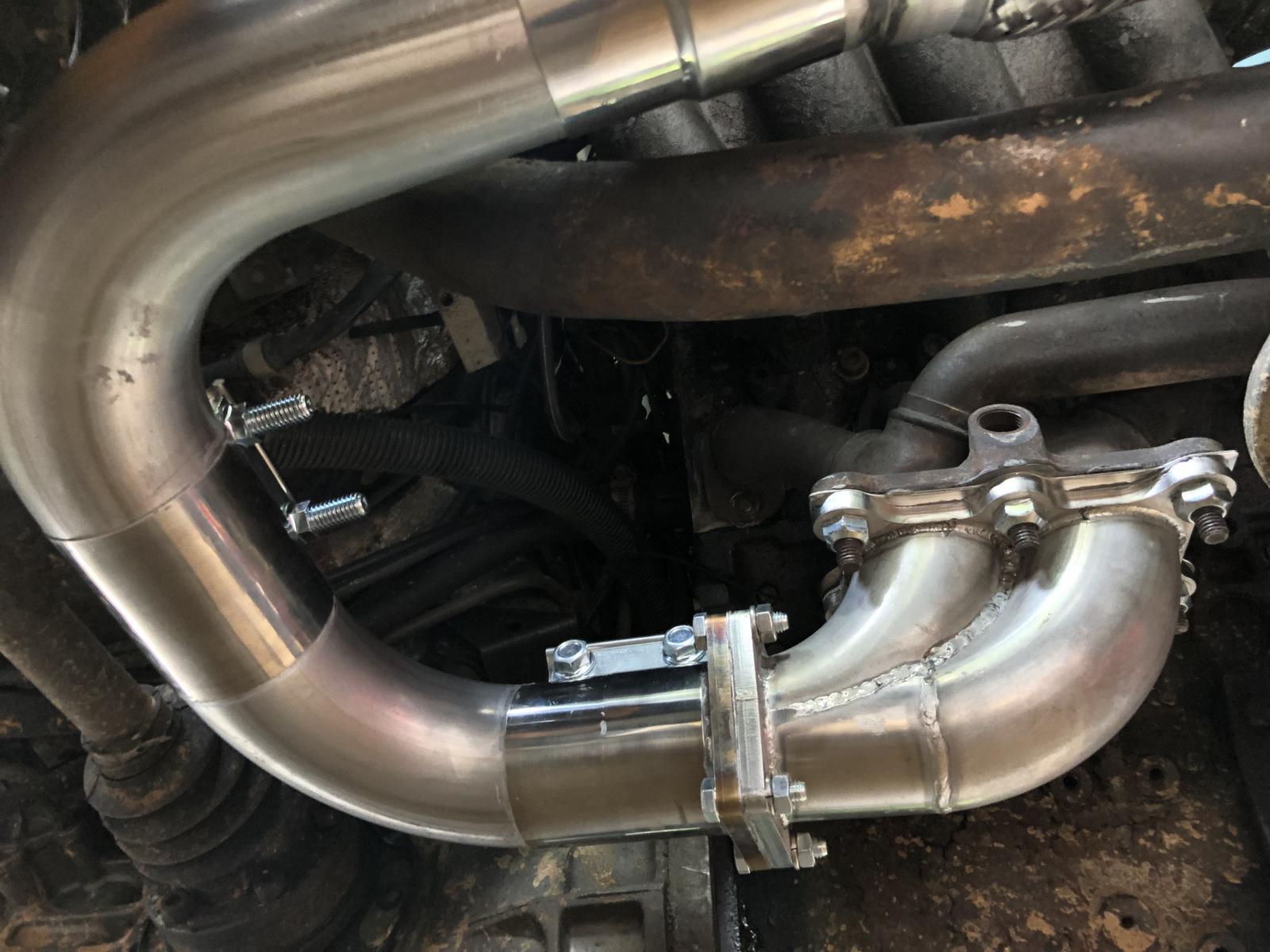 Thesamba Com Vanagon View Topic 2 0 Aba Exhaust With Aeg Manifold