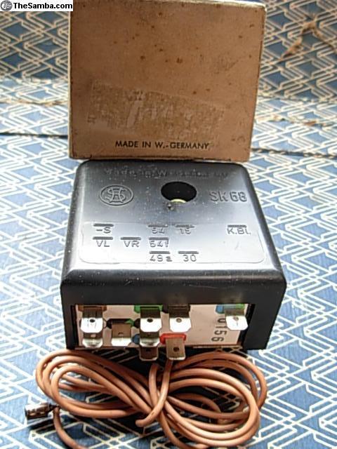 Original emergency flasher for 67 Beetle?