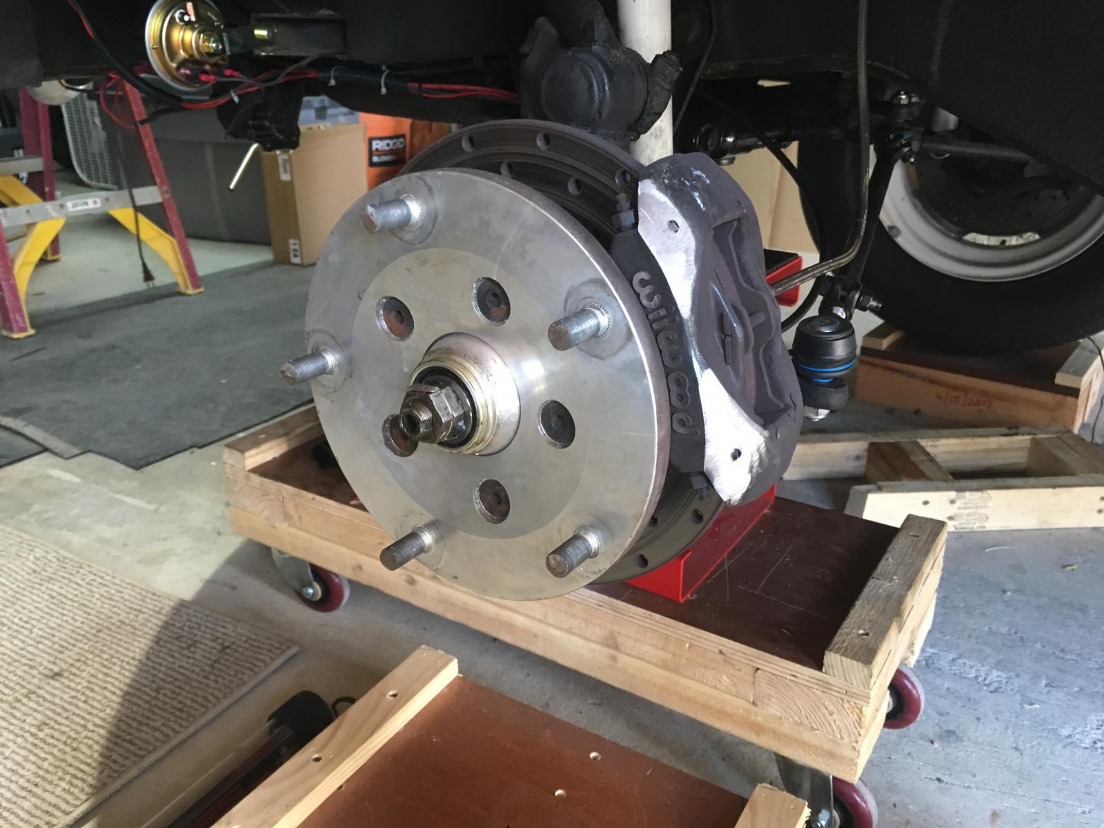 "Clearance brake caliper to fix stock 15"" wheel"
