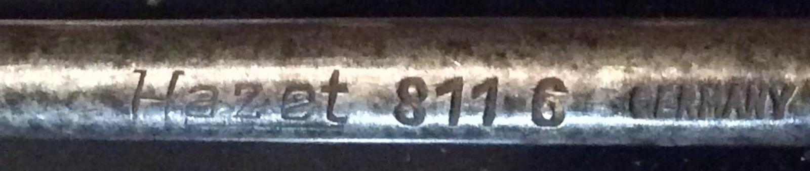 Hazet 811-6 Screw Driver Differences.