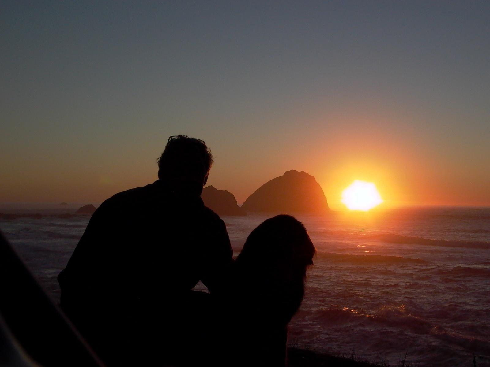 Jerry and me Sunset Eureka
