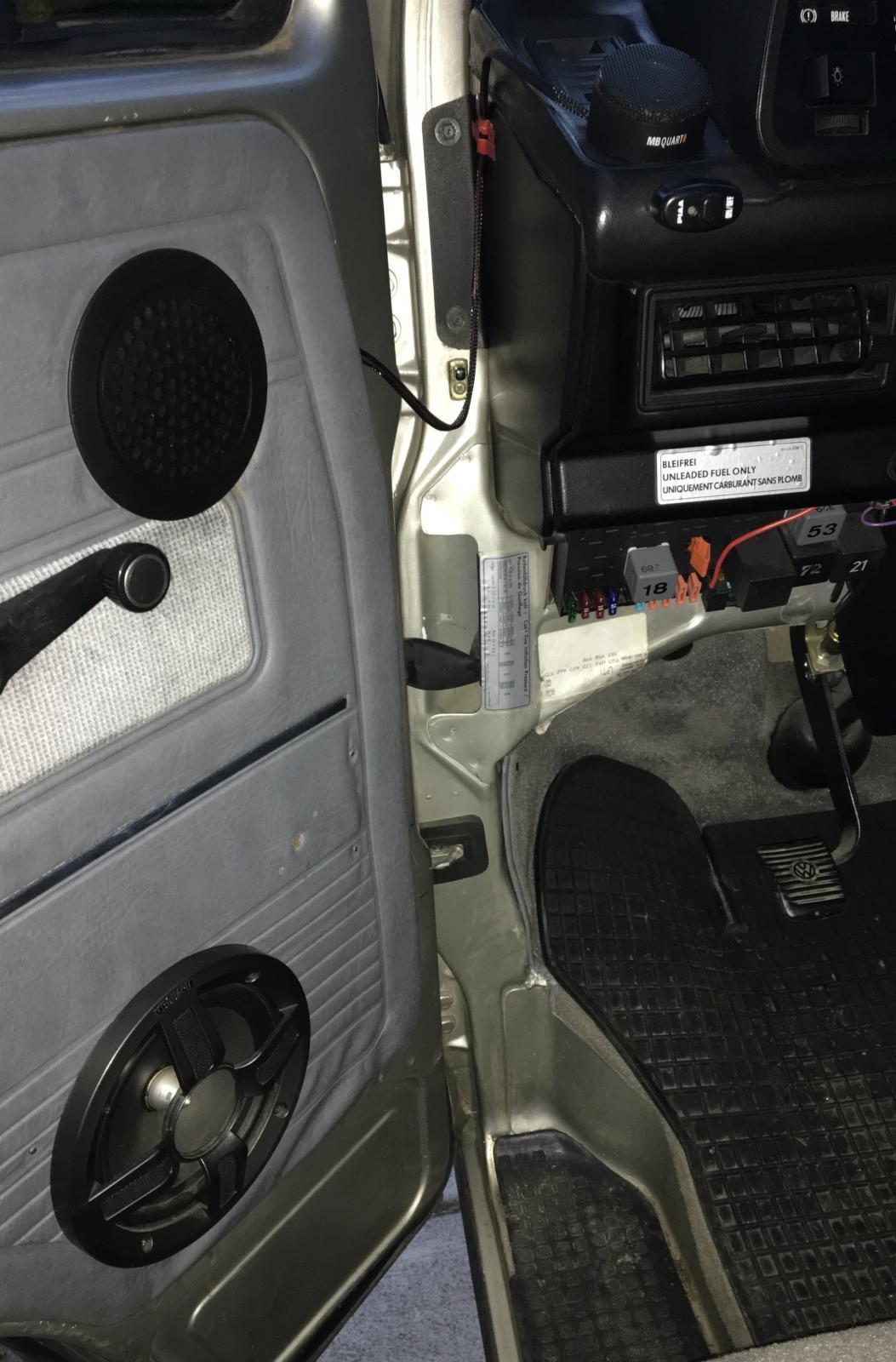 Mb quart speakers vanagon