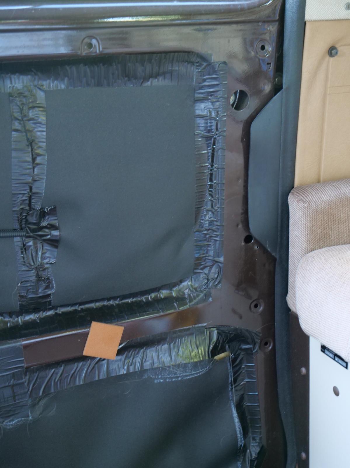 Vanagon slider door interior