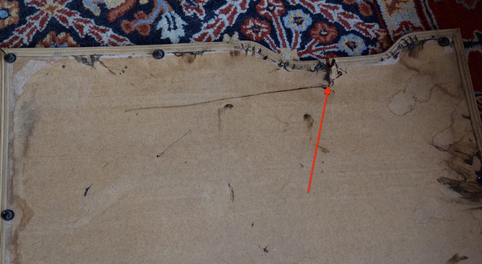 Vanagon slider door panel rear