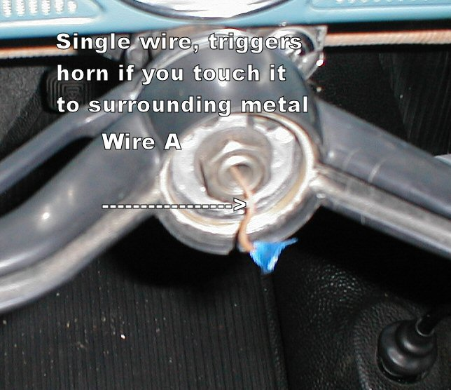 Horn hell, the wiring of the horn - Shoptalkforums.com