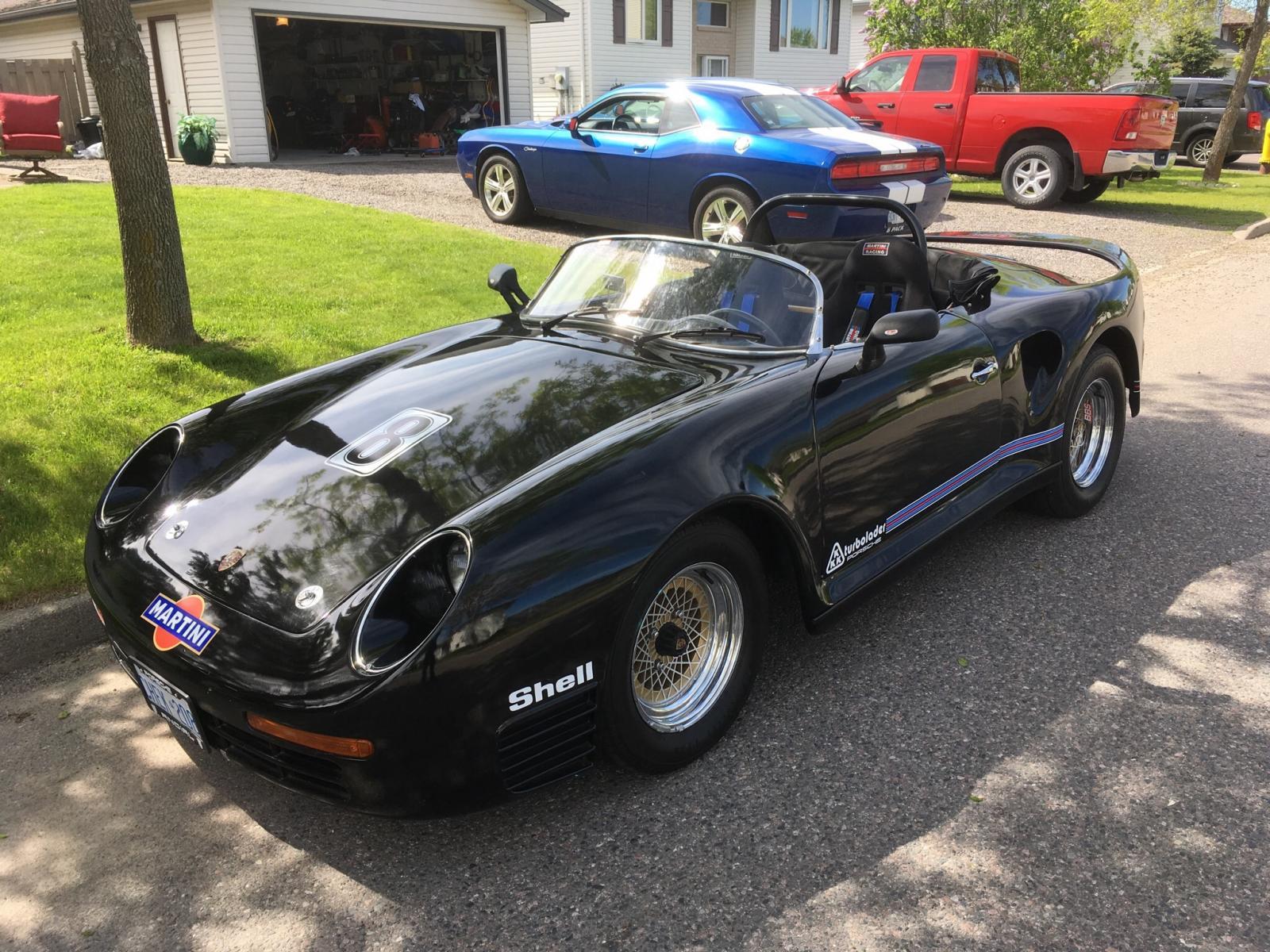 Porsche 959 Speedster re-creation
