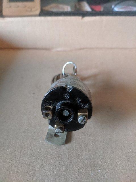 Screw terminal ignition switch with keys SG 43 Original Huf Keys