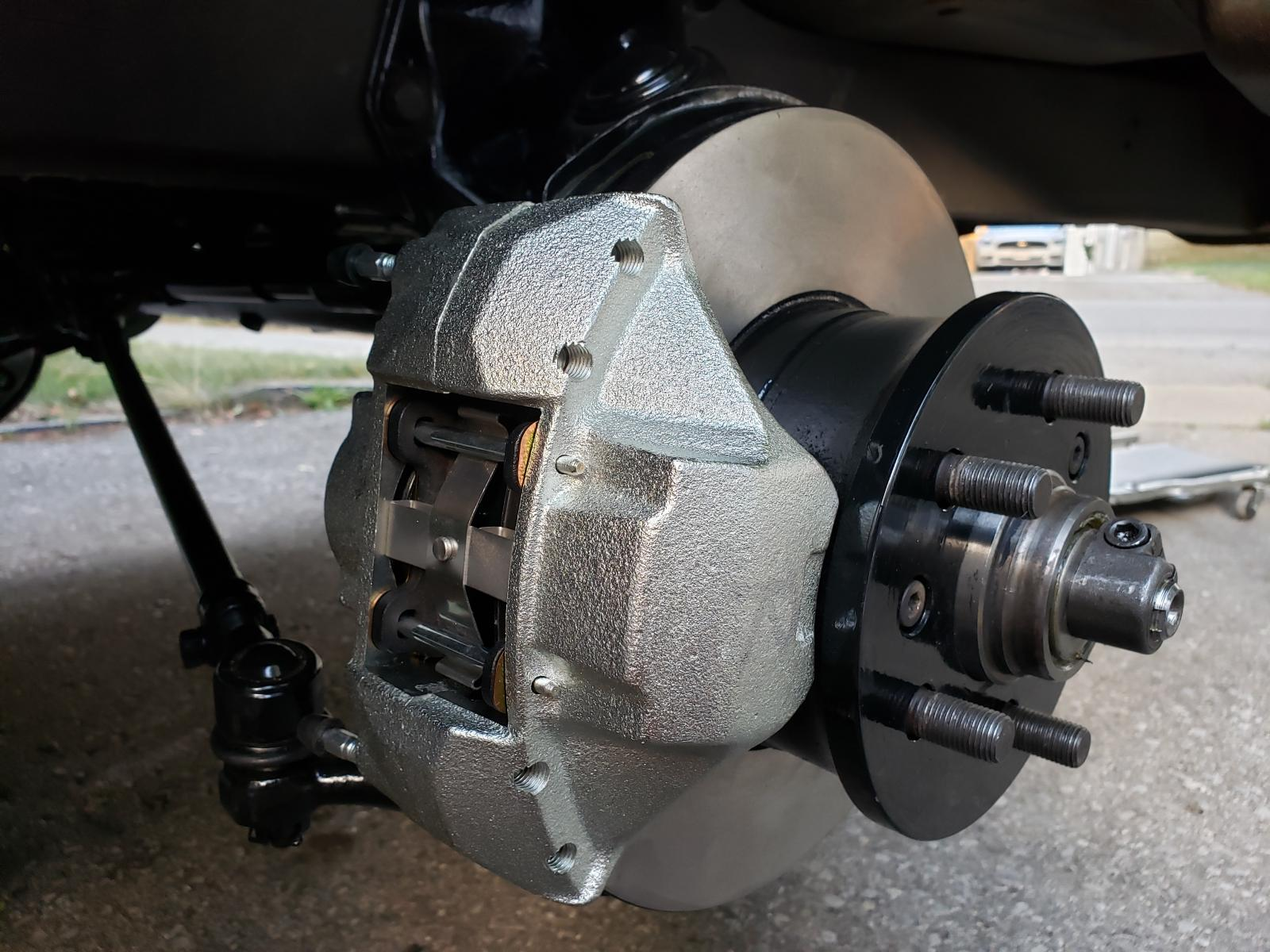 78 bus front brakes