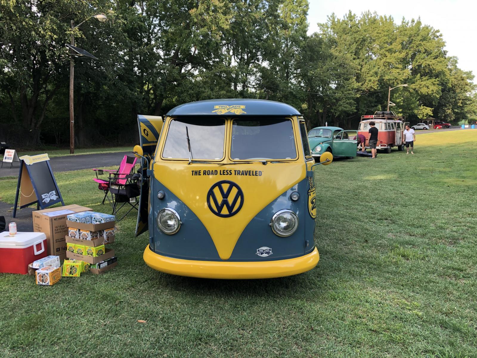 Two Roads Beer Bus