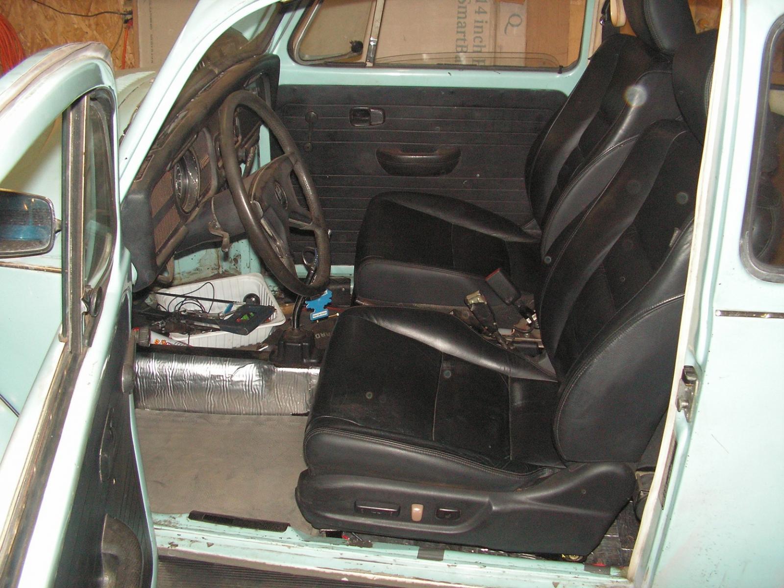 Leather seats and Hood emblem