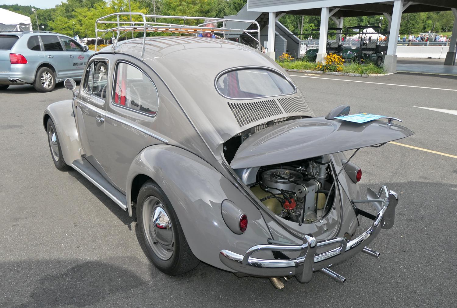 Amazing 1956 Beetle at Lime Rock Vintage Festival, CT 9-1-19