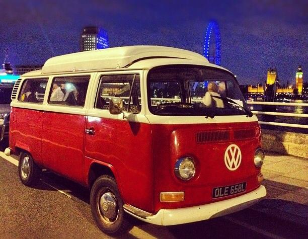 1972 VW bay stolen in London (UK)