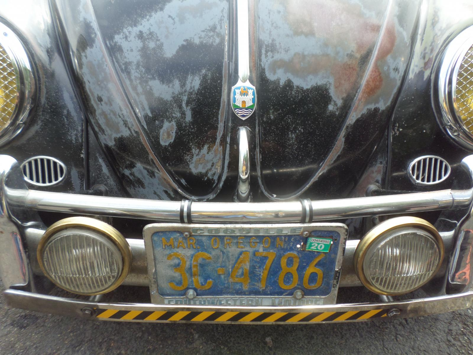 porsche 914 fog lights on 56 beetle