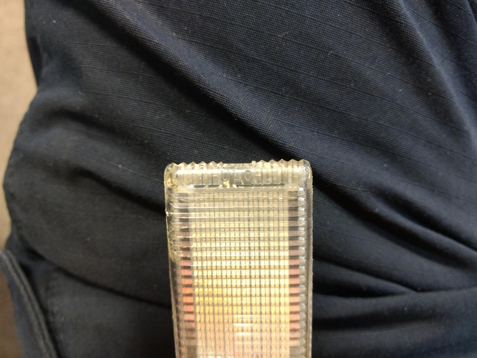 Vanagon glove box light