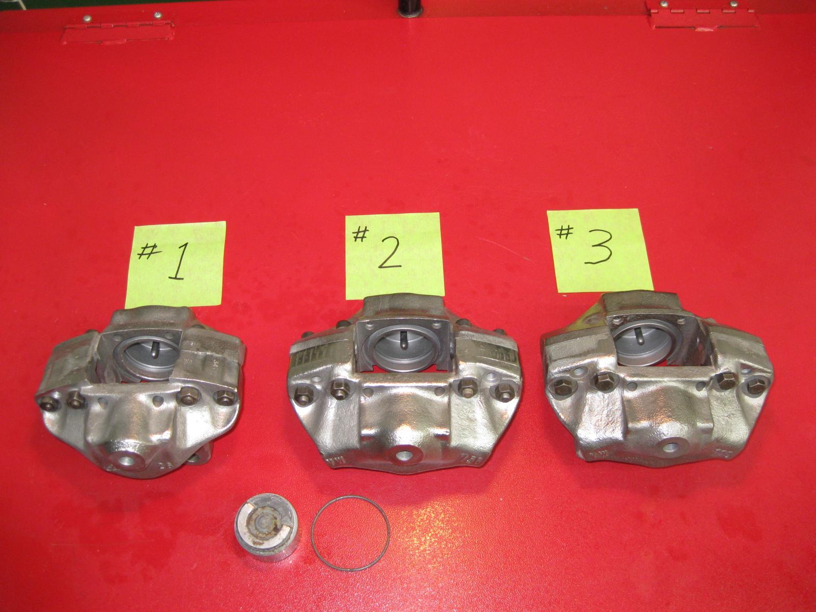 Type 3 Caliper-Late Model-Hex Head Bolts vs Socket Cap Screws