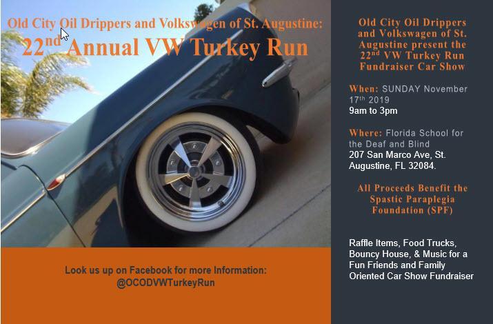 22nd Annual VW Turkey Run Fundraiser