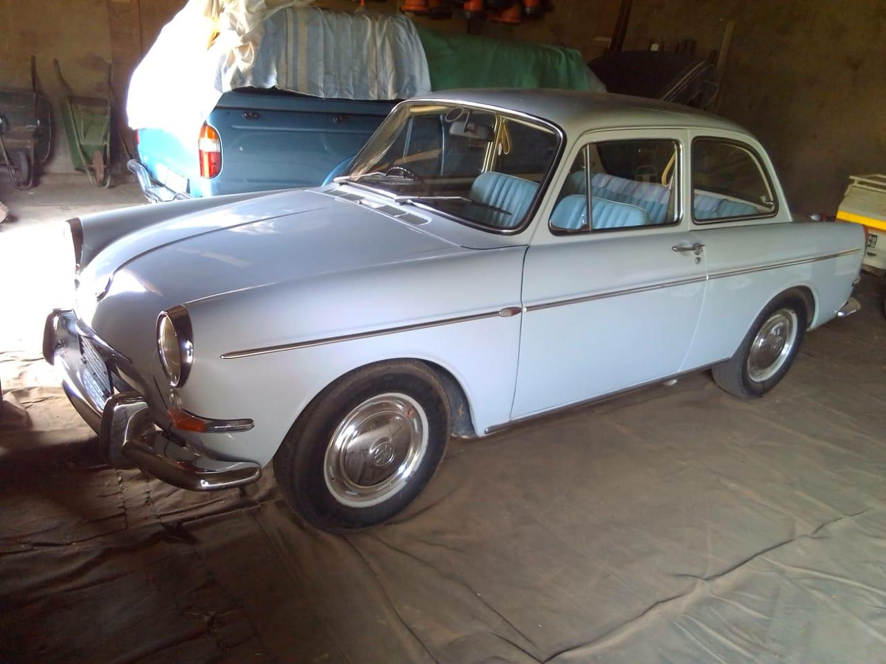 1964 RHD Notchback from South Africa with blue interior