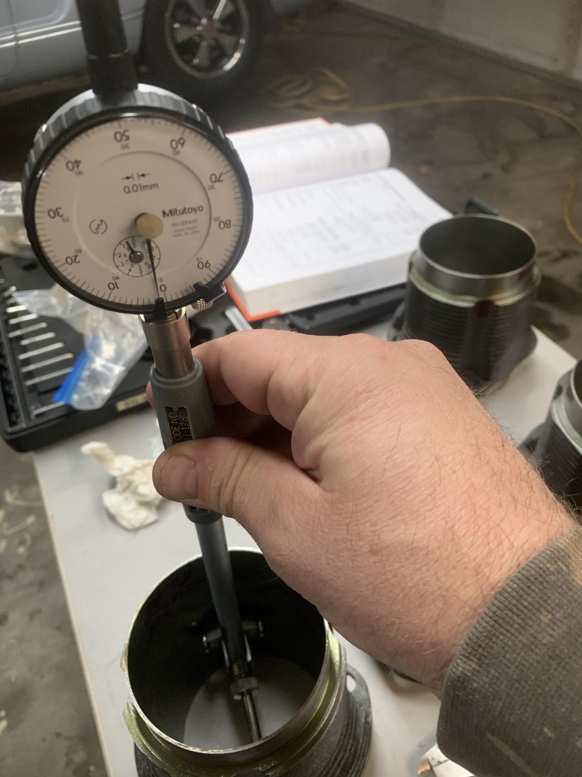 Cylinder measure