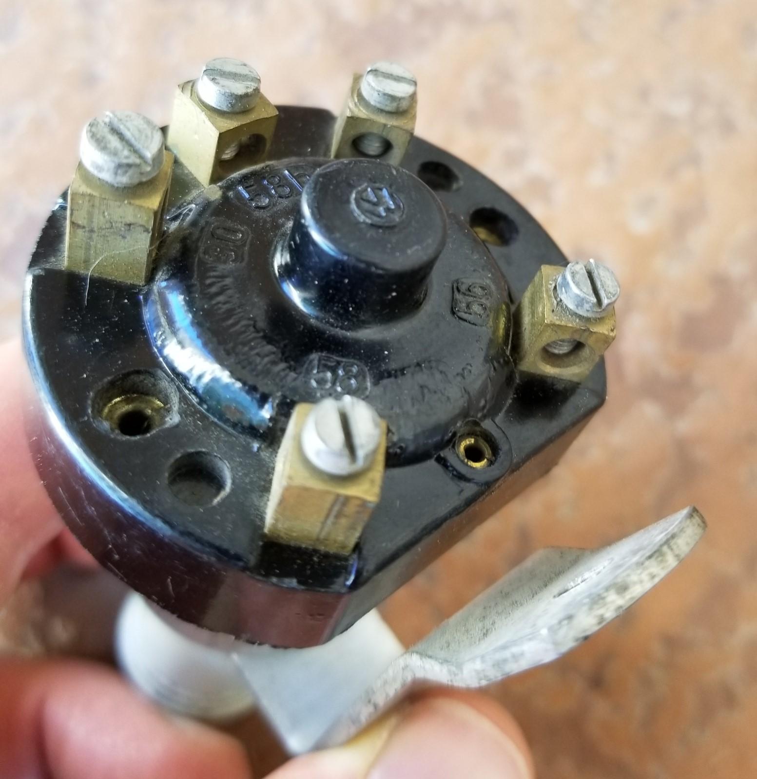 NOS screw-terminal headlight switch