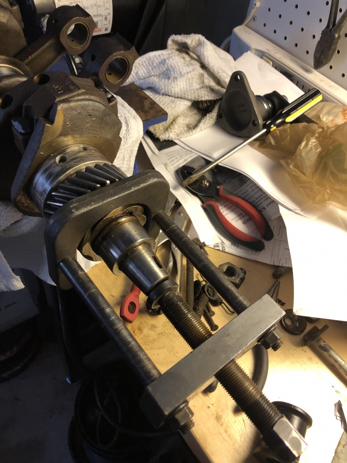 type 4 gear pulling