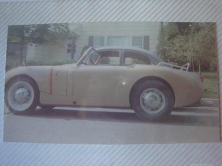 my '58 bug -